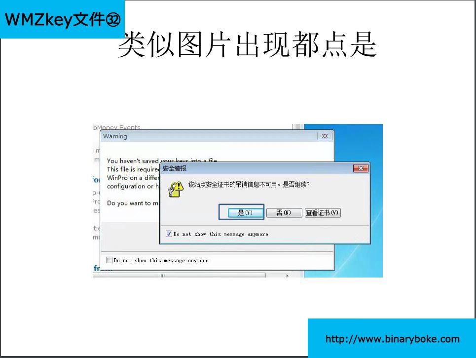 WebMoney key文件