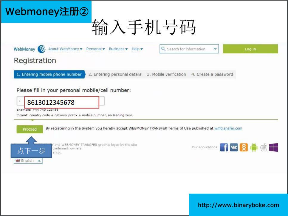 WebMoney注册